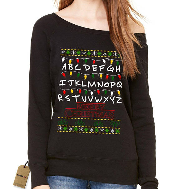 Stranger Things Christmas Sweater.18 Stranger Things Holiday Sweaters To Shop For Christmas