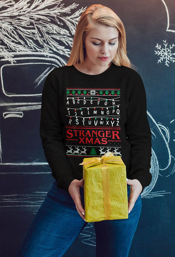 18 Stranger Things Holiday Sweaters To Shop For Christmas