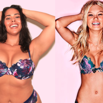 "This ""plus-size"" model recreated a bunch of Victoria's Secret ads, and SLAYED"