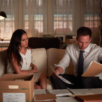 "Say goodbye, ""Suits"" fans — Meghan Markle and Patrick J. Adams are reportedly leaving the show"