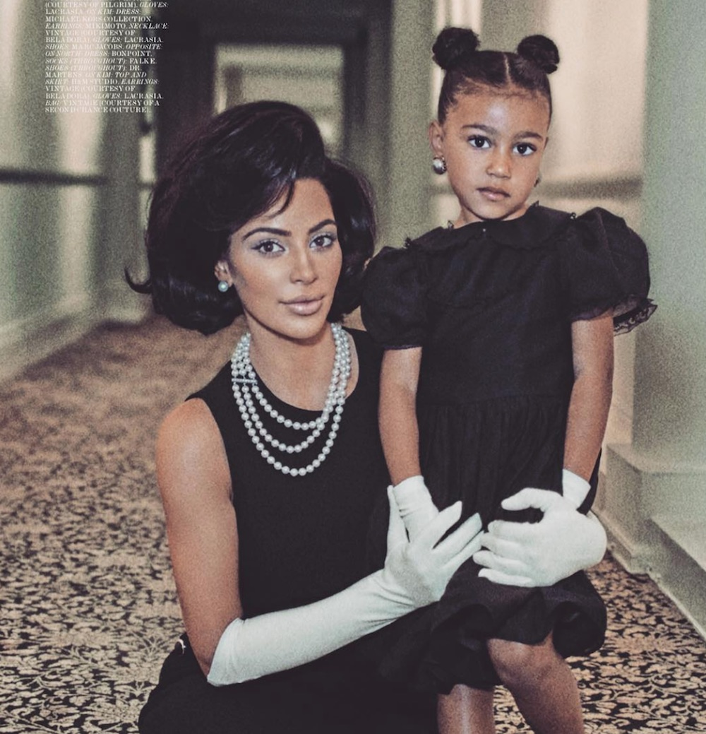 North West just might be the next big beauty influencer