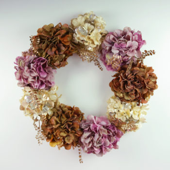 A 15-Minute Fall Wreath