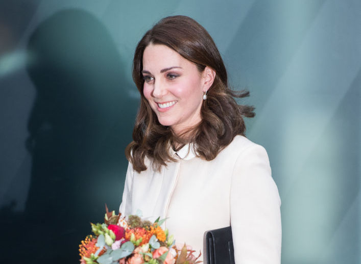 Kate Middleton recycled this winter coat from her first pregnancy