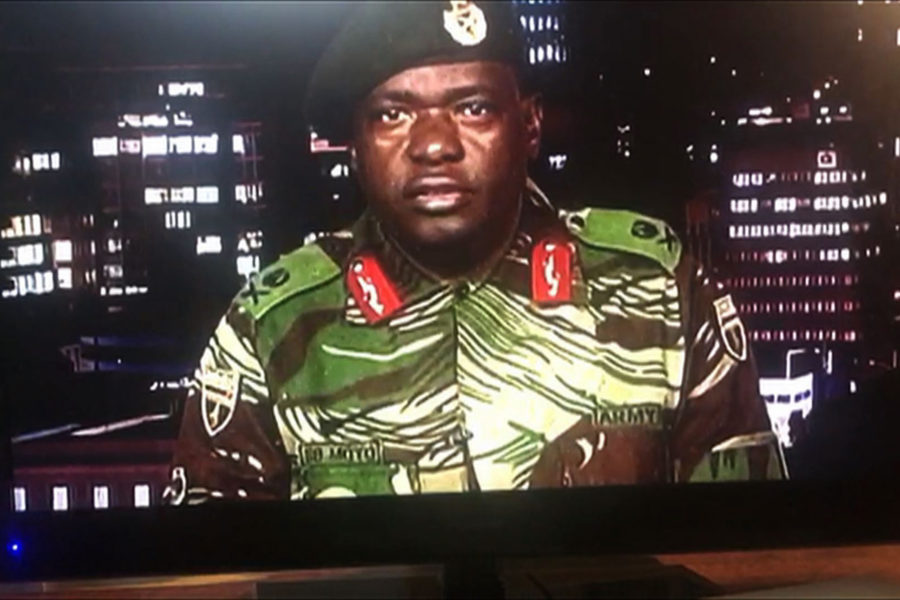 Zimbabwe's military has taken control of the capital — here's what we know