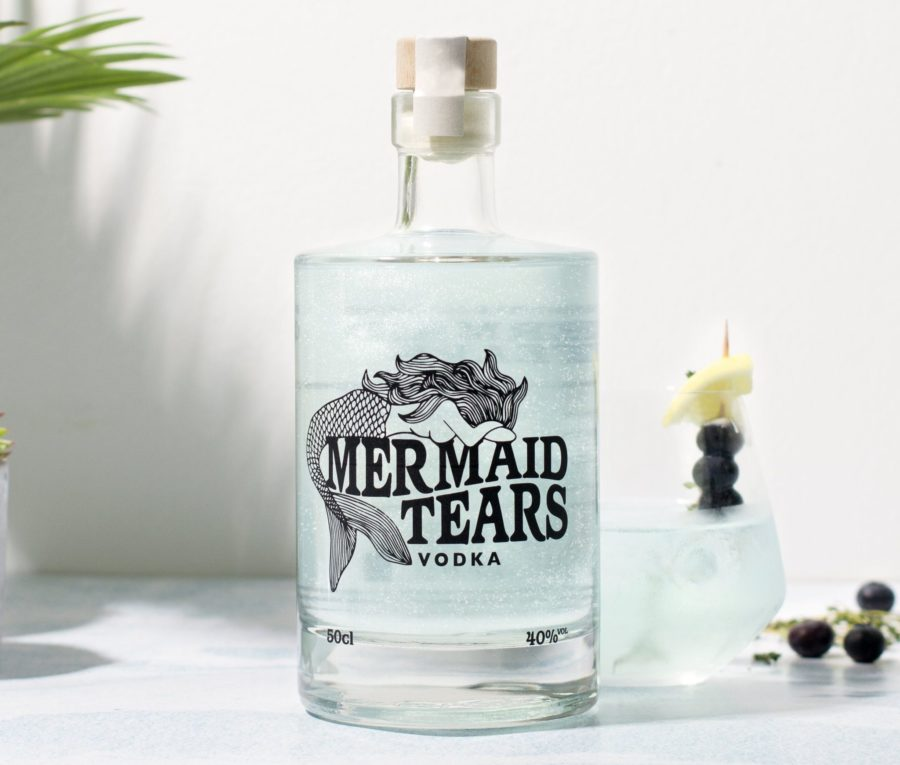 Mermaid Tears Vodka is here, and it perfectly captures our essence