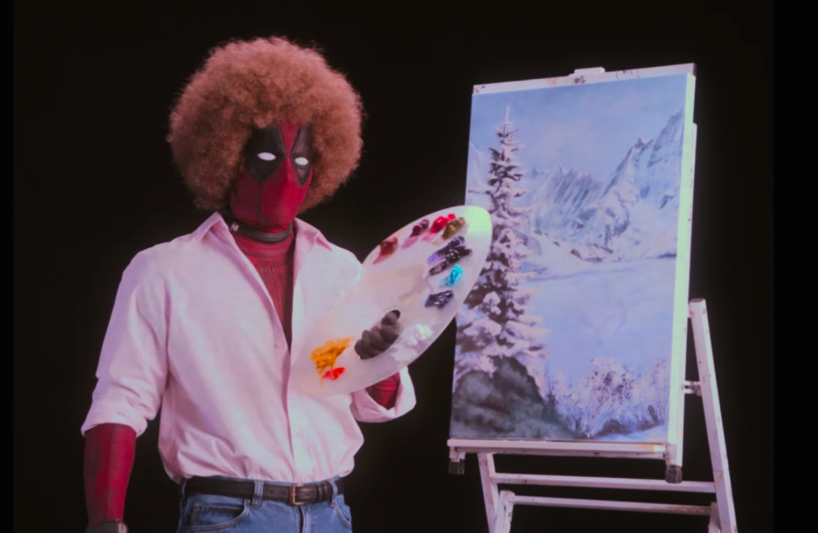 "The first ""Deadpool"" teaser is here and features a NSFW version of Bob Ross"