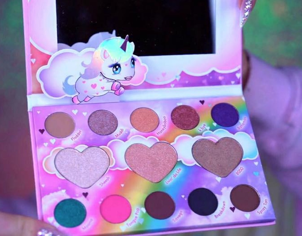 BH Cosmetics knows our love for unicorns is huge, so they're launching a unicorn palette