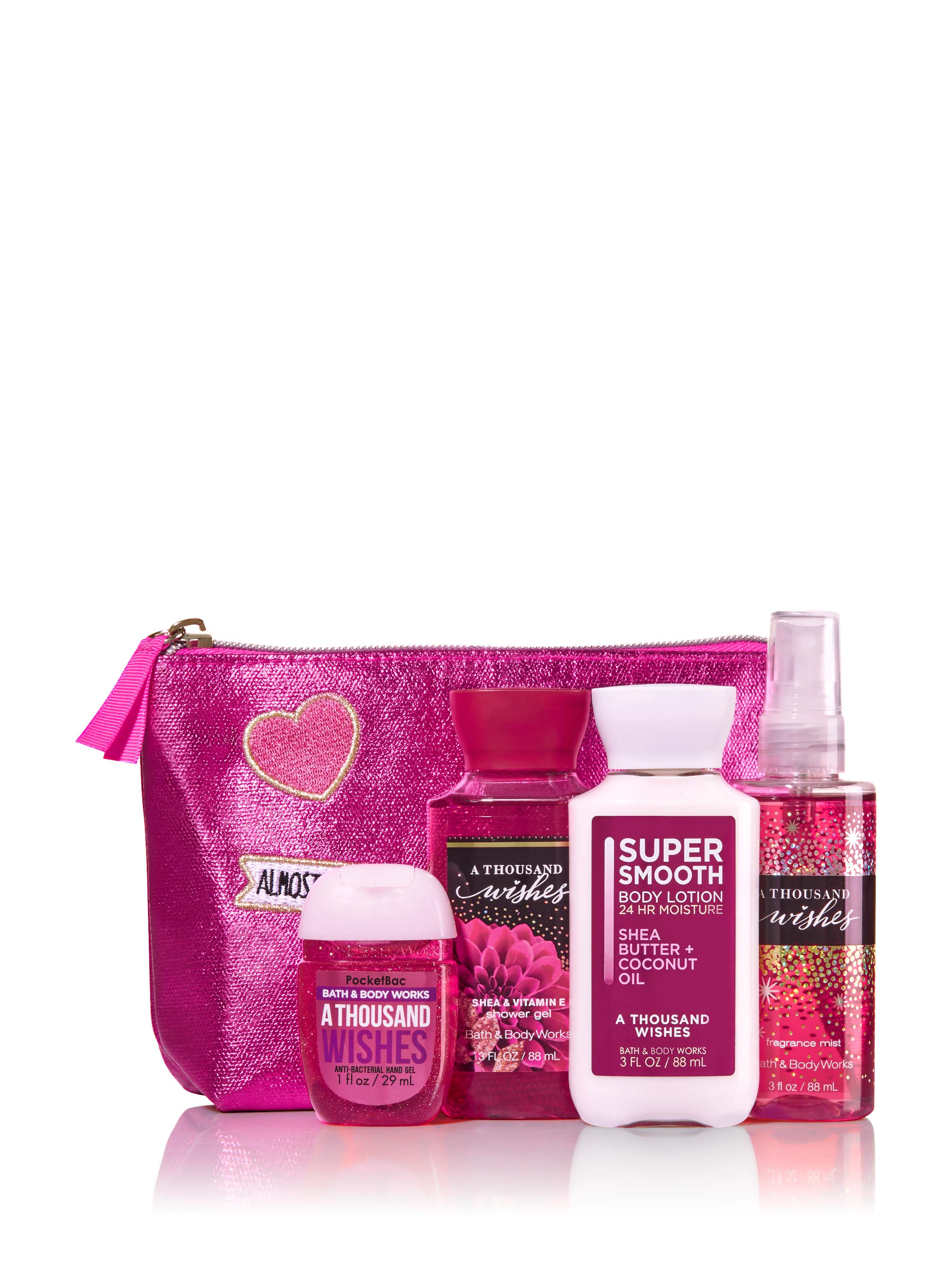 3Bath u0026 Body Works A Thousand Wishes Perfect In Pink Gift Set $20.50  sc 1 st  HelloGiggles & 15 Bath u0026 Body Works holiday products to shop for this Christmas ...