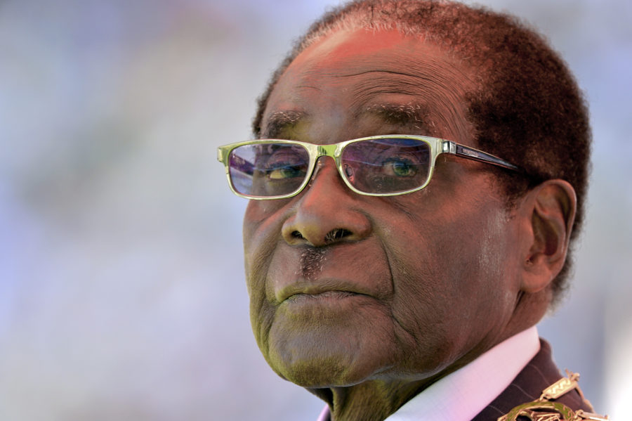 Mugabe's 37-year rule appears at an end in Zimbabwe