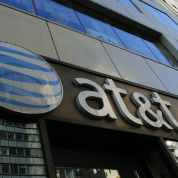 AT&T had massive service outages this morning, so if you couldn't use your phone, that's why
