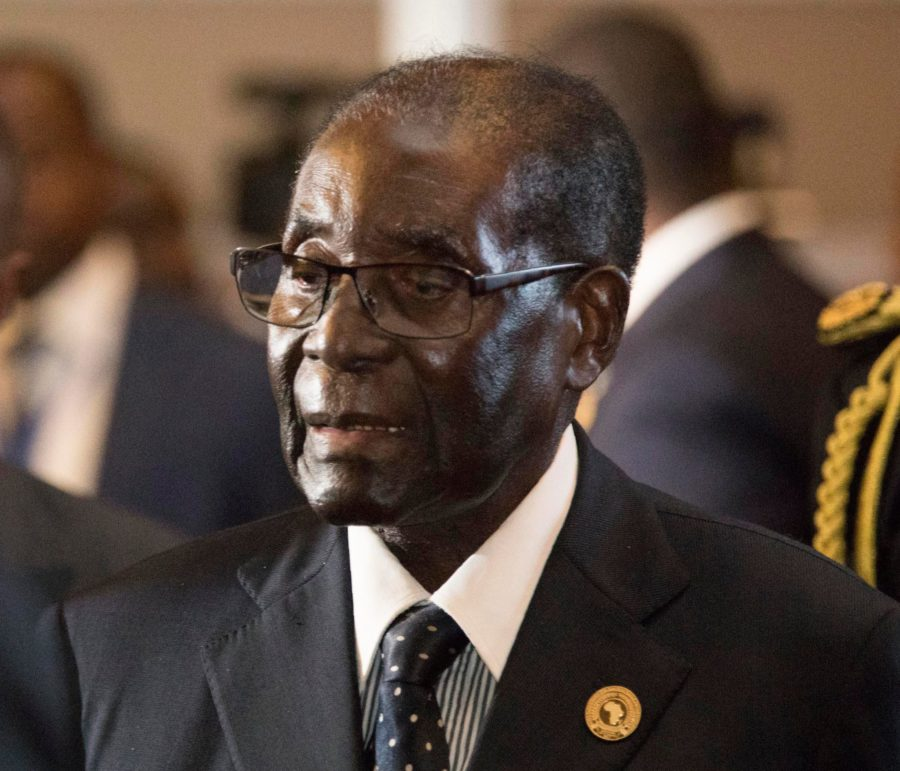 Zimbabwe's President Robert Mugabe is under house arrest after an apparent military coup