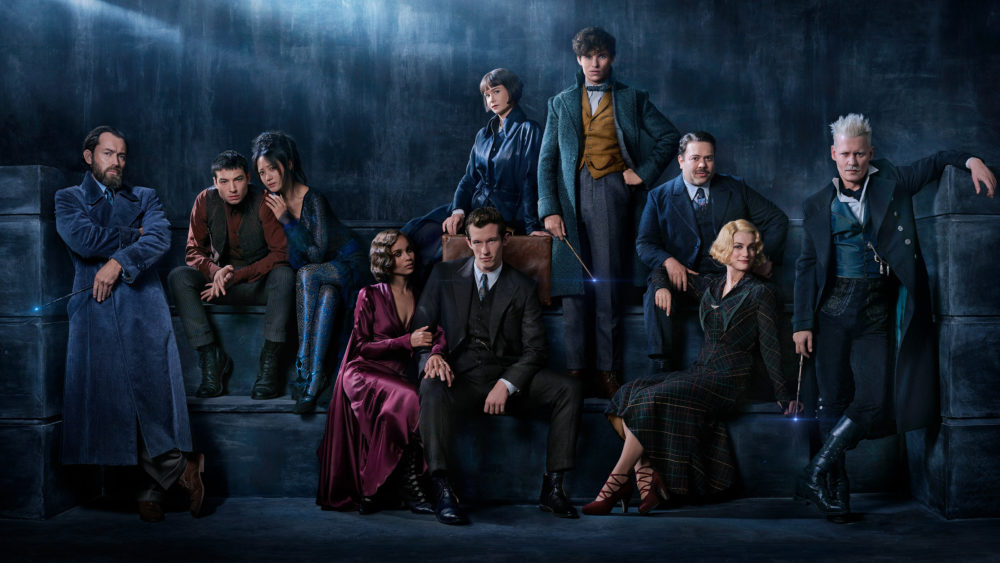 """Fantastic Beasts 2"" just gave us another look at Young Hot Dumbledore, and it's proof that magic is real"