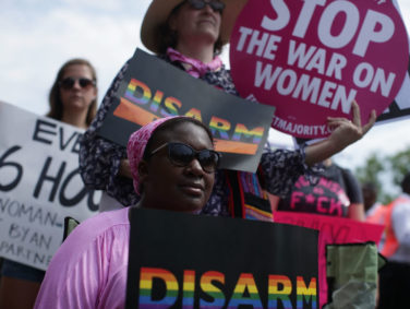 Actually, yes, gun control is a women's issue, and we have to start thinking of it that way