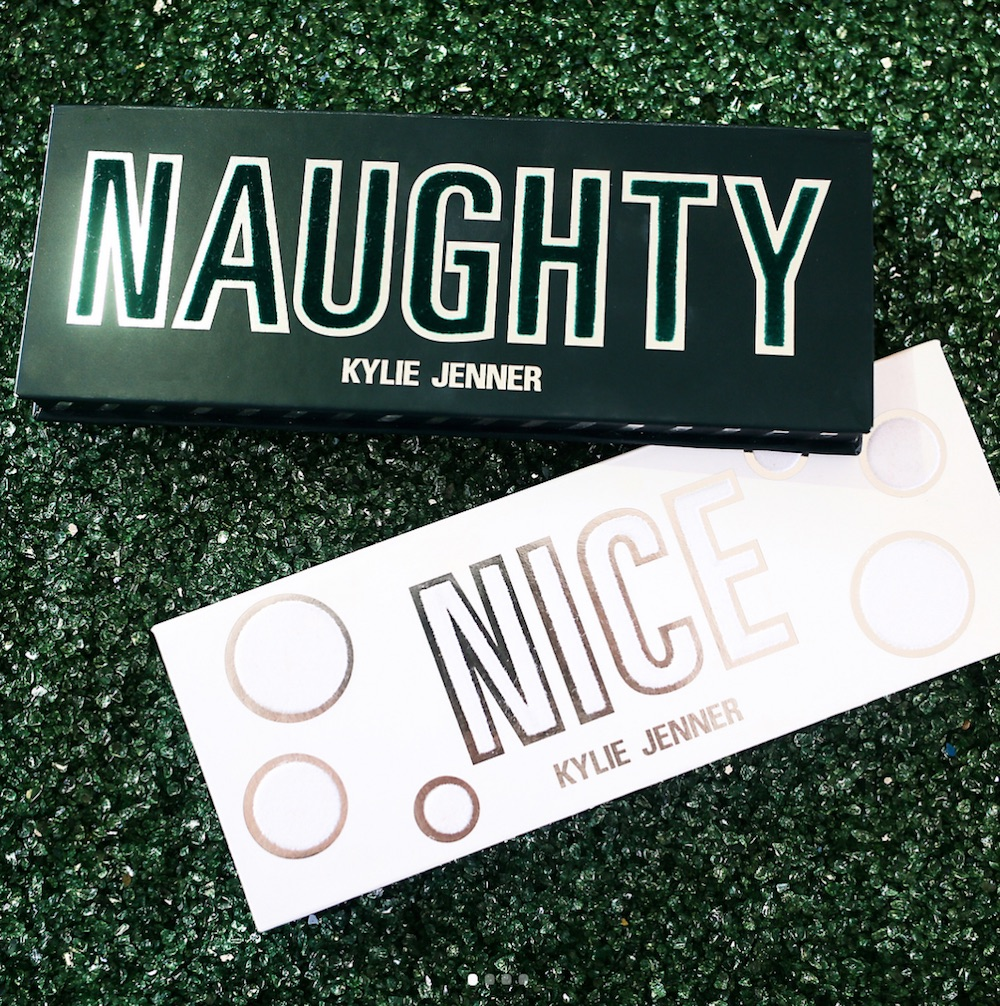 Kylie Cosmetics' holiday collection has you covered whether you've been naughty or nice
