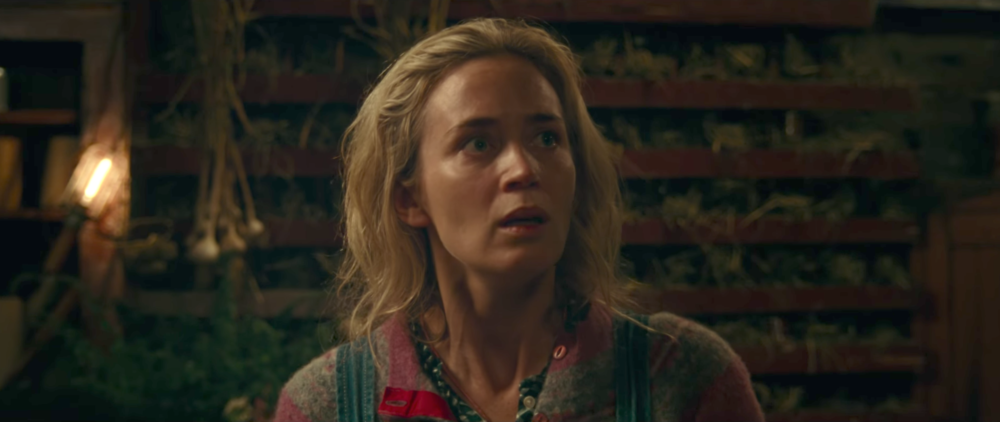 The trailer for Emily Blunt and John Krasinski's first film together will send chills down your spine