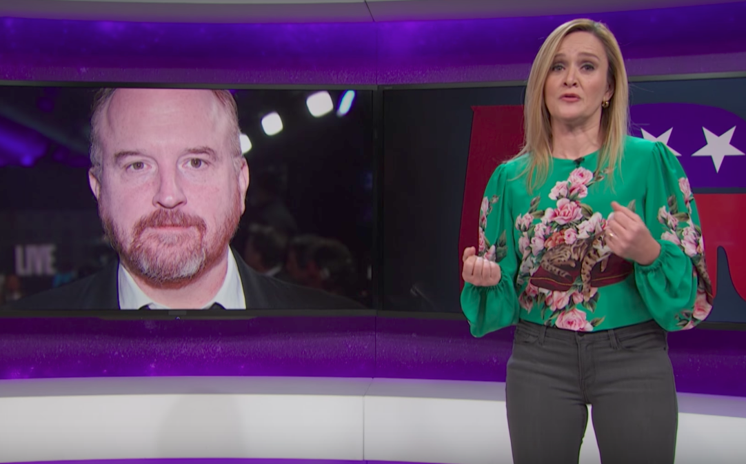 "Samantha Bee takes down ""critically acclaimed pervert"" Louis C.K."