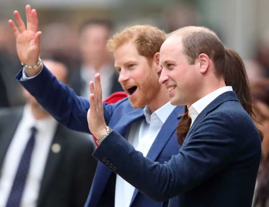 "Princes William and Harry have cameos in the next ""Star Wars"" movie"