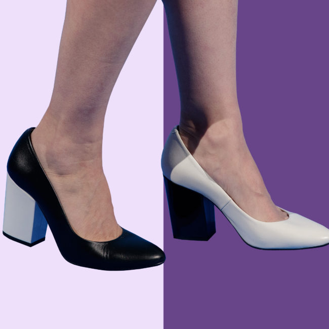 Is the mismatched shoe trend FTW or WTF?