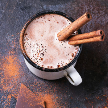 This kind of whiskey is the yummiest with hot chocolate
