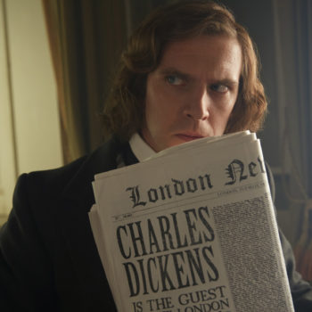 "Dan Stevens loves playing Charles Dickens — but ""A Christmas Carol"" isn't his favorite holiday story"