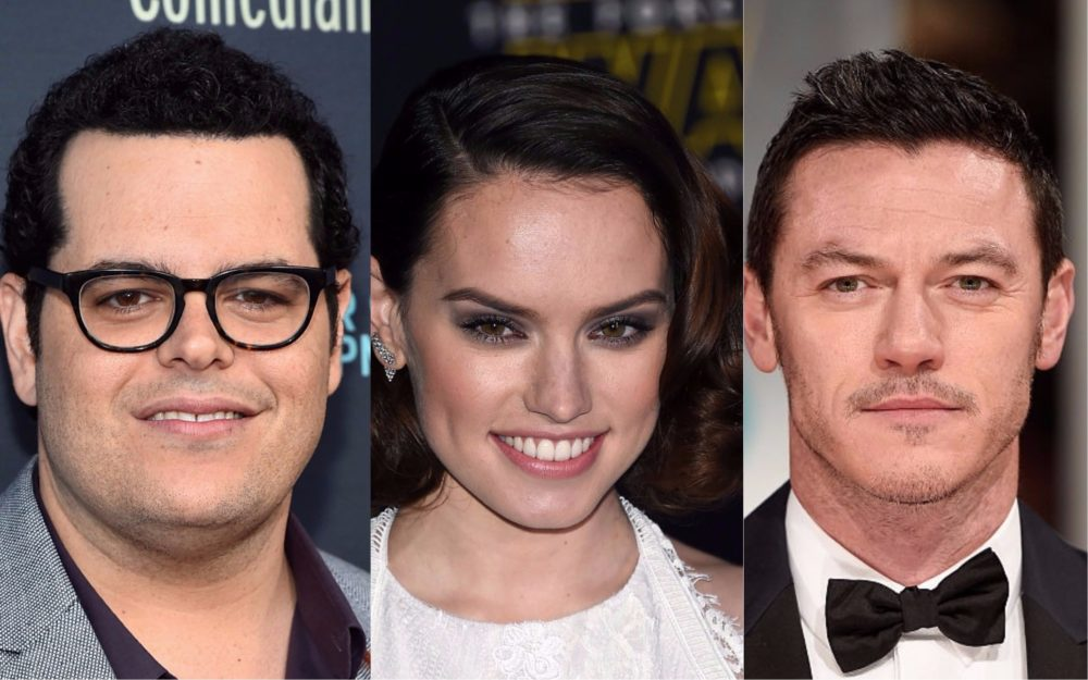 Daisy Ridley, Josh Gad, and Luke Evans may star in a Netflix superhero comedy, and talk about a dream team