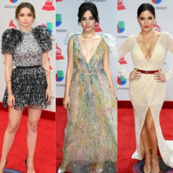 13 fashion looks from the Latin Grammy Awards that are giving us major holiday inspo