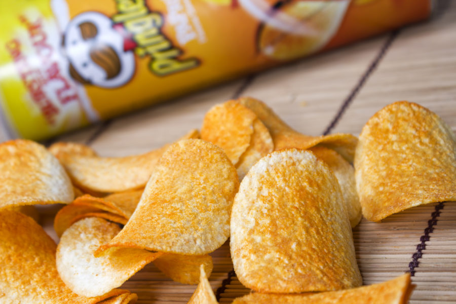 Thanksgiving dinner-flavored Pringles are here, and let's process this together
