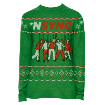 *NSYNC dropped holiday merch — this we promise you
