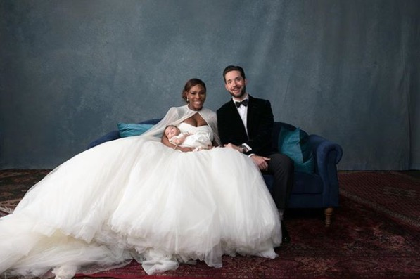 These Photos Of Serena Williams Wedding To Alexis Ohanian