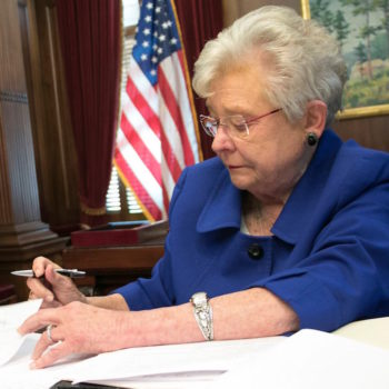 Alabaman governor Kay Ivey apparently believes Roy Moore's accusers, but she won't let that stop her from endorsing him