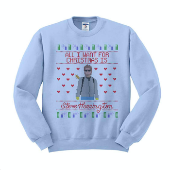 """18 """"Stranger Things""""-themed holiday sweaters so you can be the cool kid at your company's holiday party"""