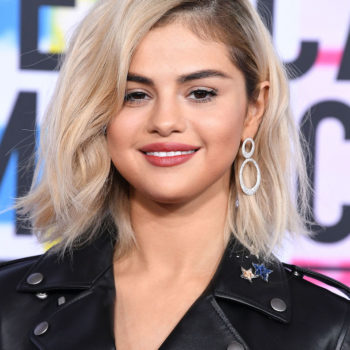 This is the exact nude-rose lipstick Selena Gomez wore at the 2017 AMAs
