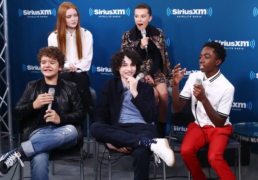 "We give the ""Stranger Things"" kids' 2017 AMAs red carpet style a solid 11"