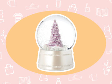 WANT/NEED: A pink snow globe to put you in a festive mood, and more stuff you want to buy