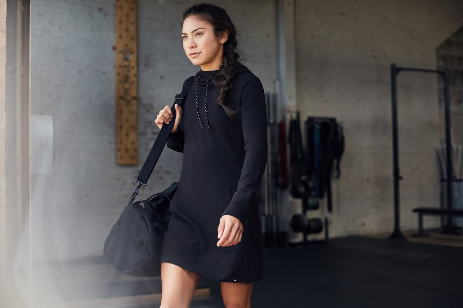 The brand known for its ultra comfy sweatpants just made a dress version