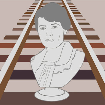 Today we honor Olive Dennis, the first service engineer for the historic B & O Railroad