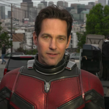 "Watch Paul Rudd get adorably frustrated answering fan questions about ""I Love You, Man"""