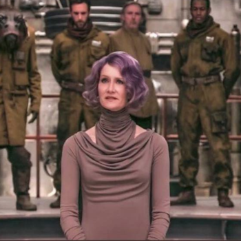 "Laura Dern might not look like your average military leader in ""The Last Jedi,"" but she's still a boss"