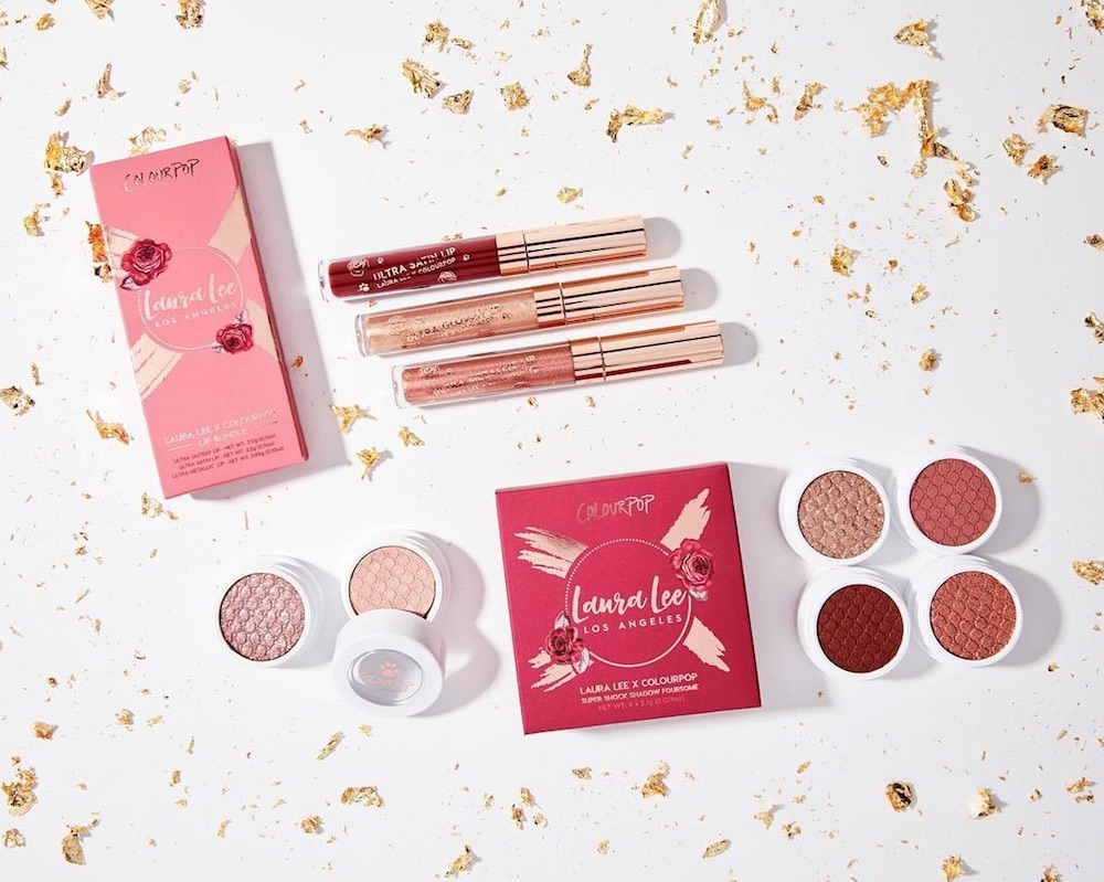 ColourPop's new collection with beauty vlogger Laura Lee