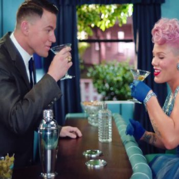 Channing Tatum plays Pink's husband in her sexy retro new video
