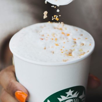 Here's how you can make the new Starbucks Toffee Almondmilk Hot Chocolate