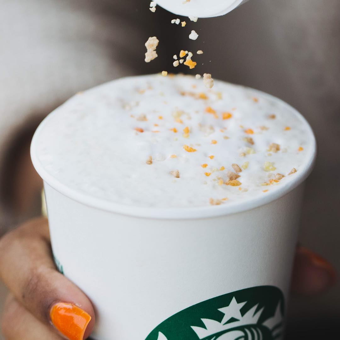 How To Make Starbucks' New Toffee Almondmilk Hot Chocolate