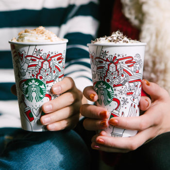 You can win free Starbucks for a lifetime, because sometimes we DO deserve nice things