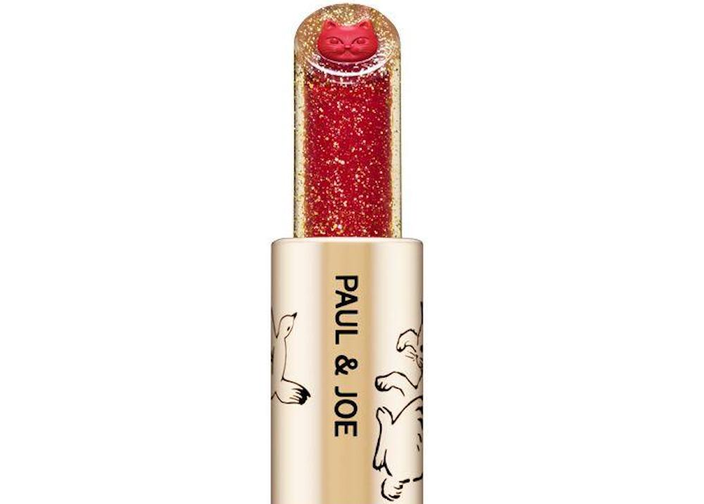 Cat lovers are going to need this sparkly red lipstick with a kitten hidden inside of it