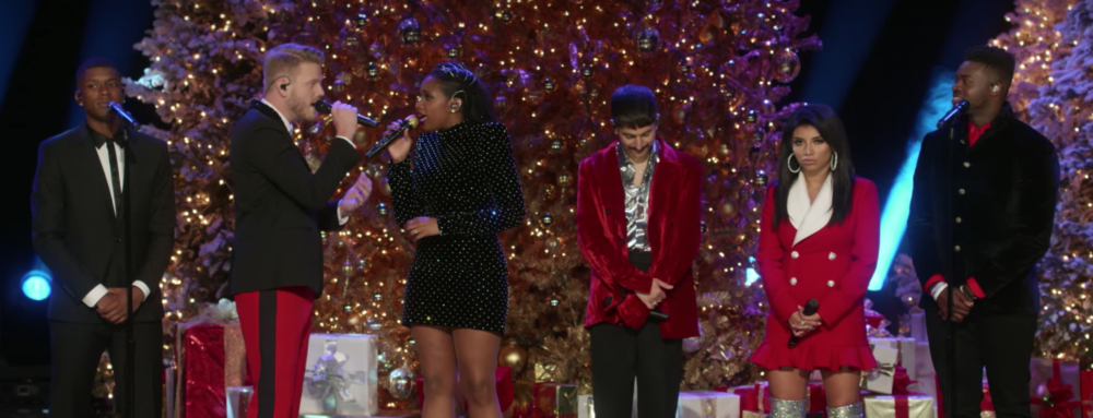 "This peek at ""A Very Pentatonix Christmas"" is giving us so much holiday cheer"
