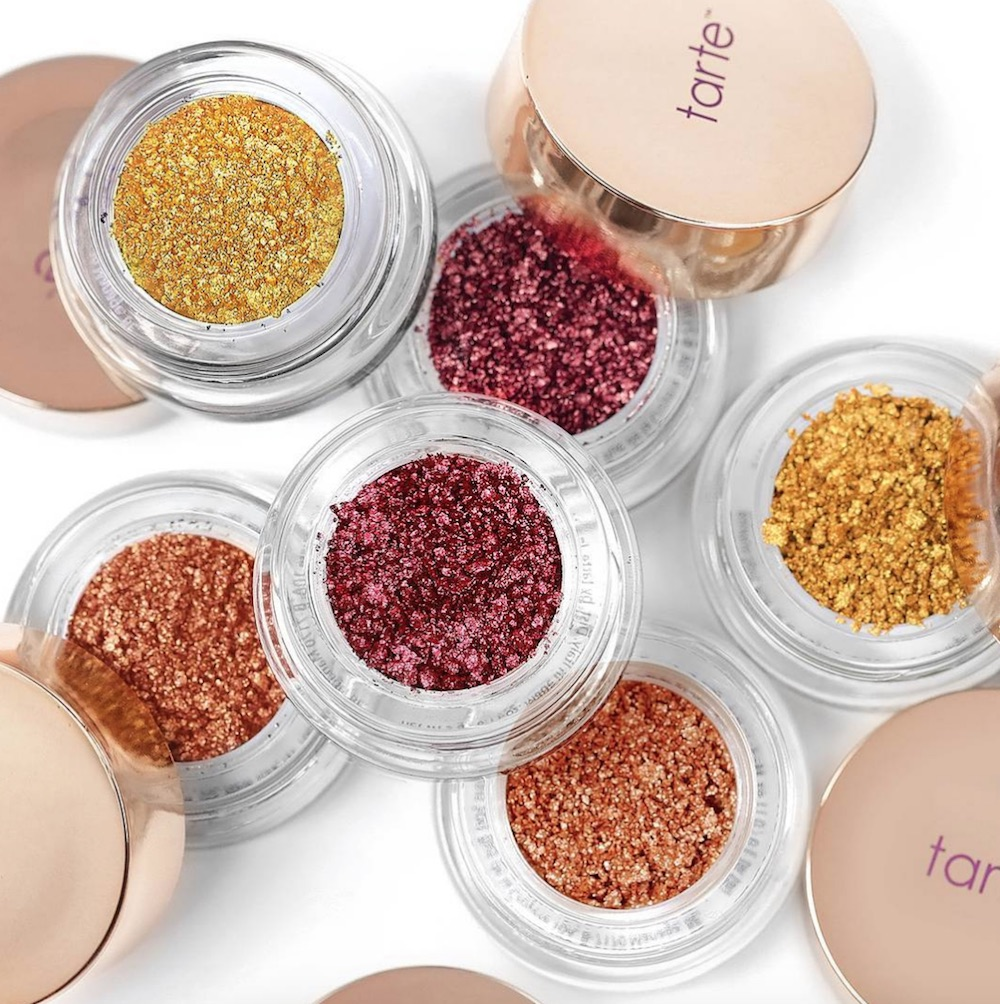 Tarte's new shimmer shadows were MADE for holiday parties