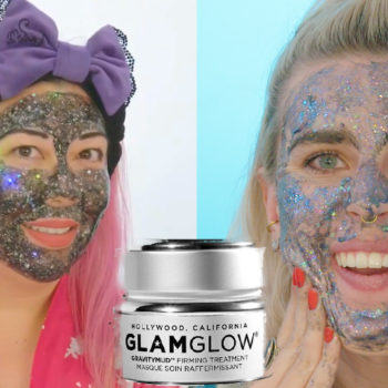Luxury vs DIY: GlamGlow Glitter Mask
