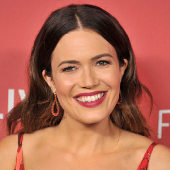 This is Mandy Moore's go-to pumpkin pie recipe