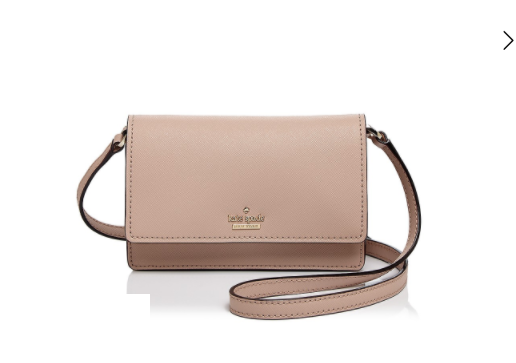 761679bace1d 5Kate Spade New York Arielle Saffiano Leather Crossbody, $110.60  (originally $158)