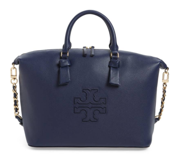 15tory Burch Harper Slouchy Leather Satchel 241 20 Was 301 50